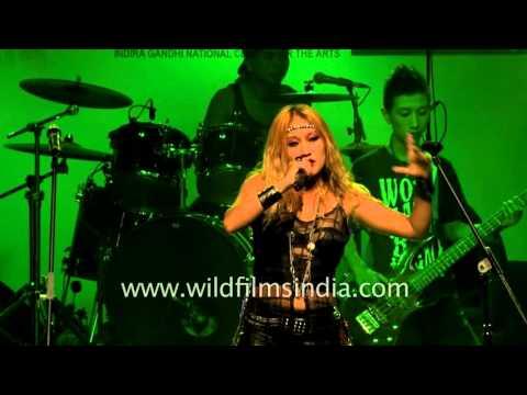 Alvina Gonson live in Delhi - Northeast Festival