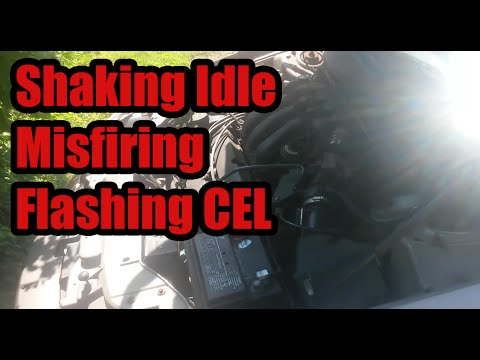 Shaking Idle. Flashing CEL. Misfiring : 02 Mercury Sable