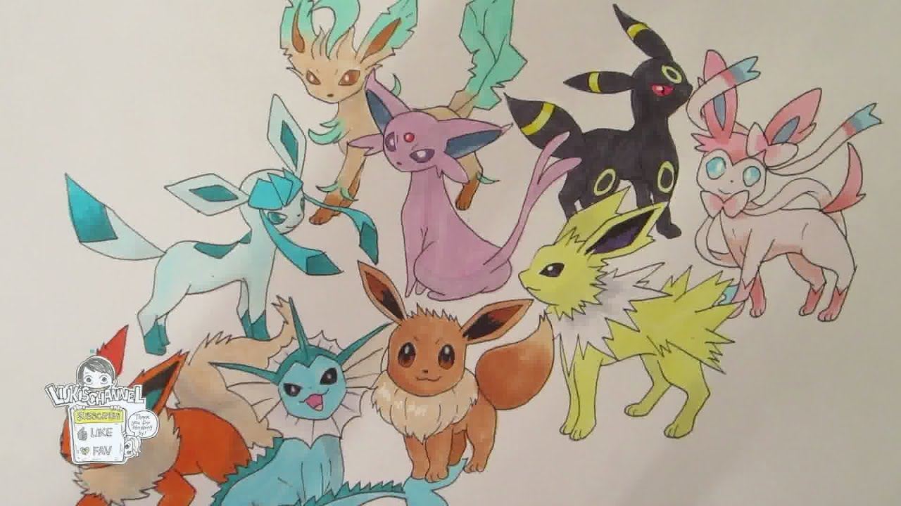 Youtube Family Drawing How to Draw Pokemon no