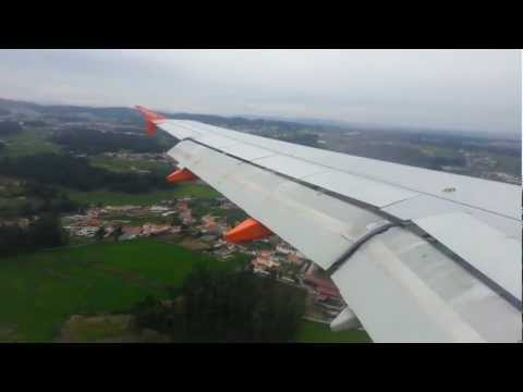 EasyJet | Landing Oporto (Porto) From Geneva International Airport