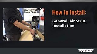 Air Strut Installation