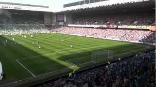 Rangers 3 Celtic 2...Amazing Penny Arcade & Blue Sea Of Ibrox  -  High Quality