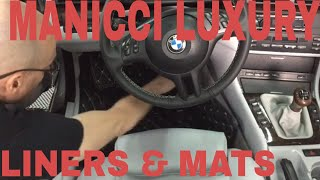 Manicci Luxury Custom Fitted Floor Liners And Premium Mats!! Interior  VLOG # 6 FINAL!!