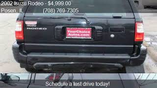 2002 Isuzu Rodeo LS 2WD 4dr SUV for sale in Posen, IL 60469