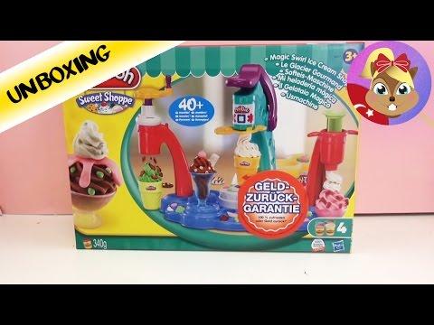 Play-Doh Dondurma Dükkanı Magic Swirl Ice Cream Shoppe - Oyun Hamuru Tanıtımı