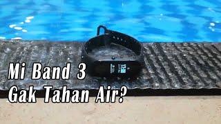Tes MI Band 3 Untuk Berenang #miband3 #testwaterresintant #swiming