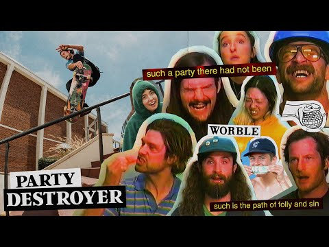 """Worble and Cobra Man's """"PARTY DESTROYER"""" Video"""
