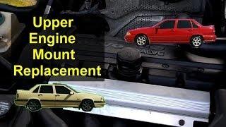 Upper Torque Motor Mount Replacement, Volvo 850, S70, V70 – Auto Repair Series