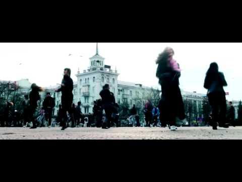 Flash mob Lugansk.