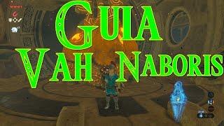 Zelda: Breath of the Wild - Interior de Vah Naboris - Guia