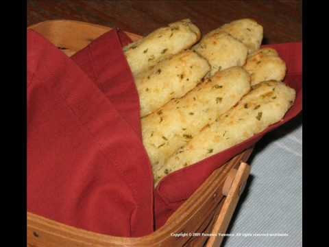 Gluten free recipes - crackers, biscuits, bread sticks, pizza, and graham crackers