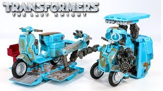 Transformers Movie 5 The Last Knight Premier Edition Deluxe Autobot Sqweeks Scooter Car Robot Toys