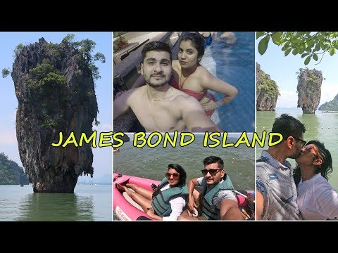 THAILAND VLOG - PHUKET Vlog Day 2: James Bond Island & Monkey Cave