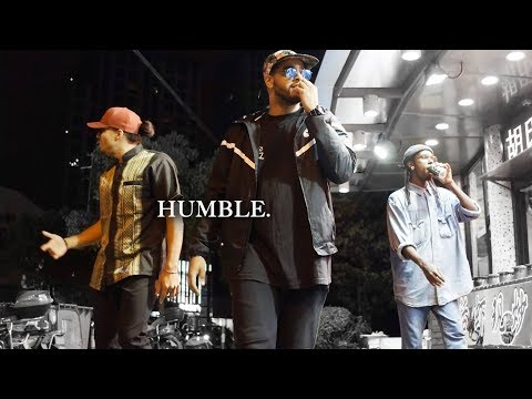 Kendrick Lamar - HUMBLE. ft Marvin, Nelson, Bouboo in Shanghai, China   YAK x WE ARE ONE