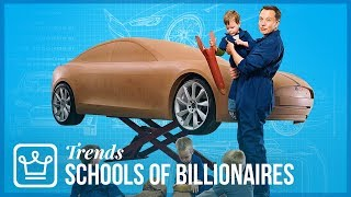 Why Rich Societies & Billionaires Are Building A New Type Of School