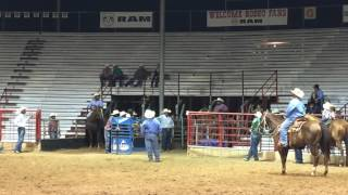 Rodeo Blooper Steer Wrestling 07/09/16 - Fort Smith Rodeo 2016 - Another Fridays Production
