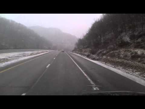 Interstate 79 North starting near Burnsville, West Virginia