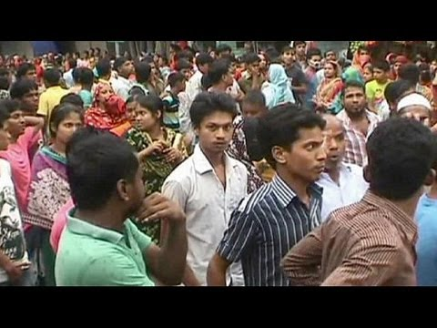 Police in Bangladesh open fire as textile workers protest over pay