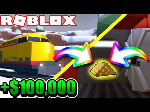 HOW to ROB the TRAIN in JAILBREAK! *NEW UPDATE IS LIVE!