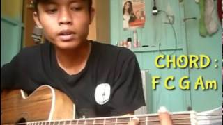 Full Tutorial AMNESIA-AL GHAZALIFingerstyle  Cover By Arsit Guitara