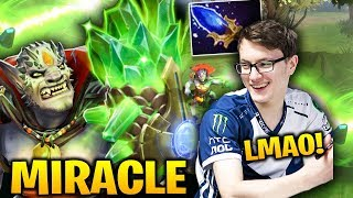 MIRACLE EPIC LION PLAY! M-GOD Show Off his Skill Dota 2 7.18
