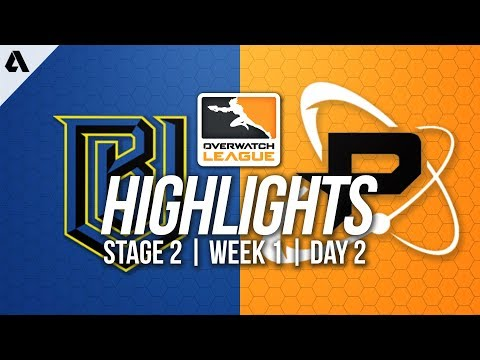 Boston Uprising vs Philadelphia Fusion | Overwatch League Highlights OWL Stage 2 Week 1 Day 2