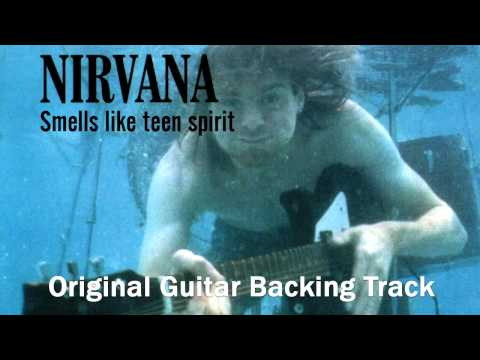 Nirvana - Smells like teen spirit [Original Guitar backing track]