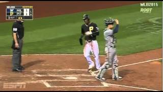 Milwaukee Vs Pittsburgh  - Polanco, Marte y Piratas despiertan con el bate  - Temporada 2015