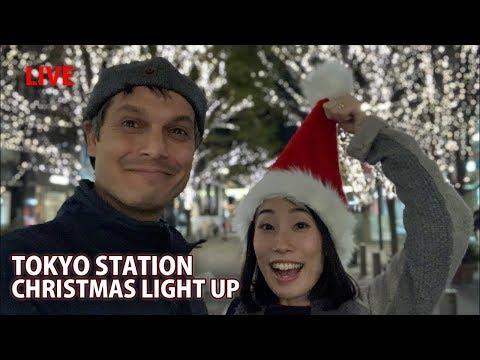 Tokyo Station Area Christmas Lights 2018
