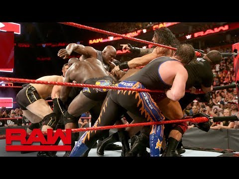 Roman Reigns and Bobby Lashley cause chaos before Extreme Rules: Raw, July 9, 2018