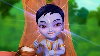 Tarangam Tarangam and Little Krishna Telugu Rhymes Collection | Infobells