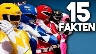POWER RANGERS - 15 Fakten zu den MIGHTY MORPHIN POWER RANGERS!