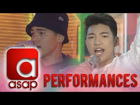 ASAP: Inigo Pascual and Darren Espanto's sing off