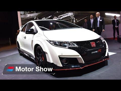 Honda Civic Type R vs Ford Focus RS – Geneva Motor Show 2015