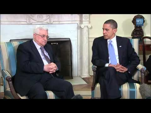 President Obama Meets with Palestinian President Abbas