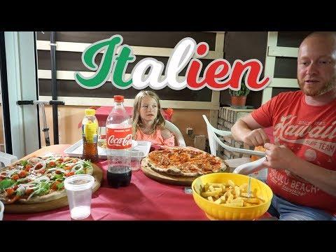 Pizza, Pasta und Meeresfrüchte | Urlaub in Italien