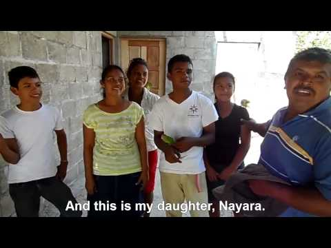 Family from Las Peñitas, Nicaragua, expresses gratitude for their new Fuller Center home