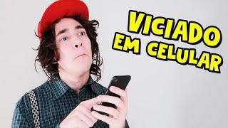 PESSOAS VICIADAS EM CELULAR I Falaidearo
