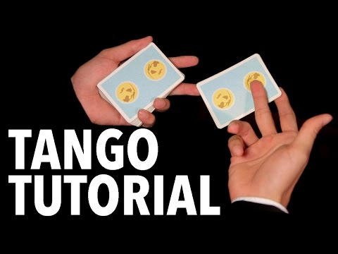 Cardistry for Beginners: Two-handed Cuts - Tango Tutorial