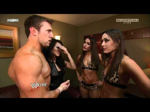 WWE Raw 24th January 2011 - The Bella Twins, Daniel Bryan an