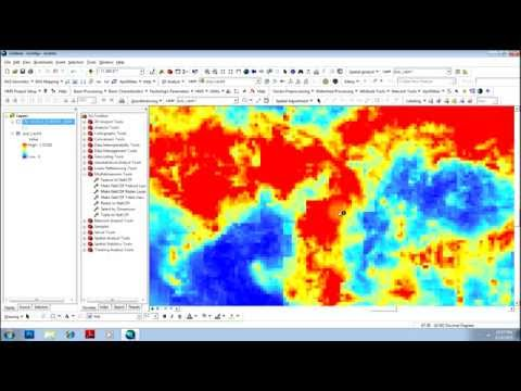 TRMM  Data Download and Analysis using ArcMap
