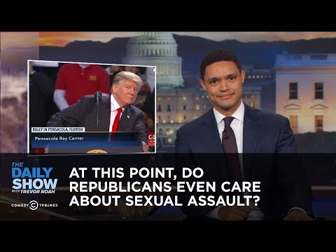 At This Point, Do Republicans Even Care About Sexual Assault?: The Daily Show