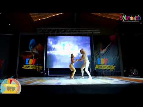 Sinem - Murat Bachata Dance Performance | EDF-2018