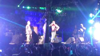 Babo feat da' fuckin Draw en concierto en Playa dC