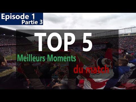 Mon TOP 5 Meilleurs Moments Tribunes Derby Atlético de Madrid - Real Madrid 4-0 HD FR