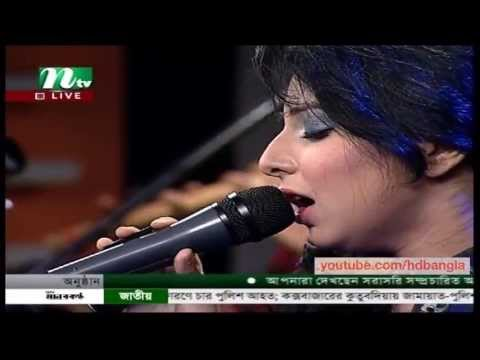 Live Bangla Song 2013 ft Porshi - Keno Jorale Amay Valobashay...