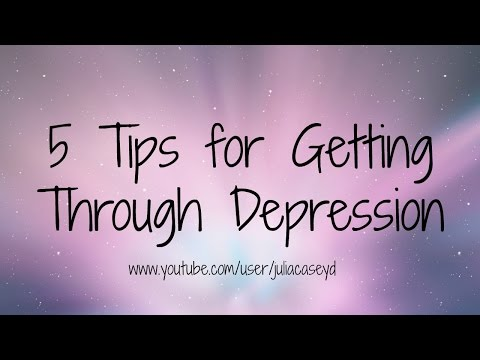 5 Tips for Getting Through Depression