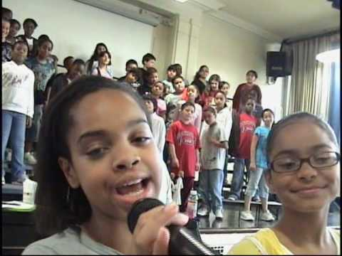PS22 Chorus &quot;JUST DANCE&quot; by Lady Gaga