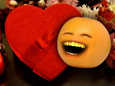 Annoying Orange Annoying Valentines Surprise YouTube