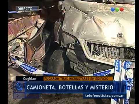 Camioneta incrustada en un edificio: datos del propietario - Telefe Noticias